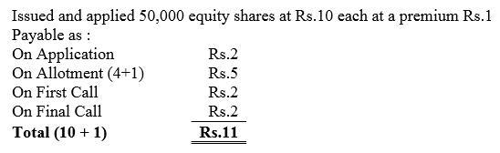 TS Grewal Accountancy Class 12 Solutions Chapter 8 Accounting for Share Capital image - 171